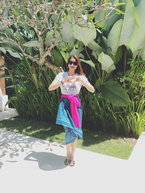 Phạm Hương diện trang phục Indonesia đọ sắc với dàn người đẹp quốc tế - 5