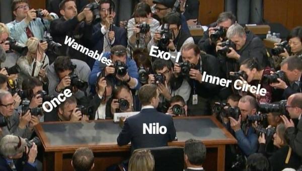 Nilo khiến cộng đồng fan Kpop phẫn nộ.