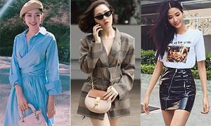Street style chào hè 'đã mắt' của sao, hot girl Việt tuần qua
