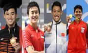4 chàng 'kình ngư' trẻ tuổi tài năng hàng đầu Đông Nam Á