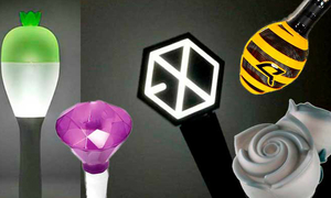 Nhìn lightstick đoán nhóm nhạc Kpop
