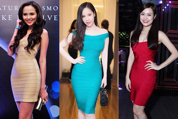 Ở Việt Nam, váy băng quấn huyền thoại đã được ưa chuộng từ 3-4 năm về trước, tuy nhiên cũng chỉ có các người mẫu hay những ngôi sao có đường cong sexy mới dám mặc.