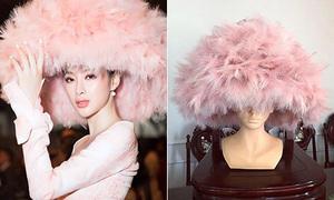 NTK mất 3 tiếng đính lông lên nón cho Angela Phương Trinh