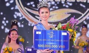 Cô gái Tiền Giang đăng quang Hoa hậu biển Việt Nam toàn cầu 2018