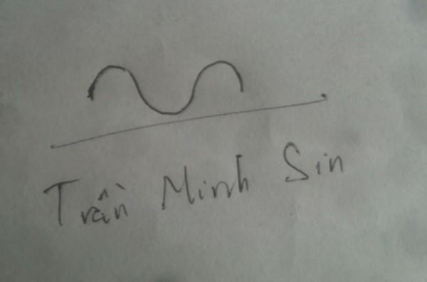Cái tên cong như biểu đồ hinh sin.