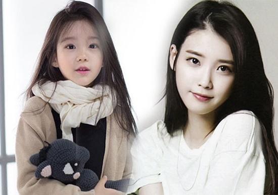 Kim Gyu Ri từng gây xôn xao mạng xã hội khi được so sánh với IU.