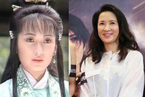 Nữ diễn viên Cung Từ Ân trong vai người tình của Triển Chiêu.