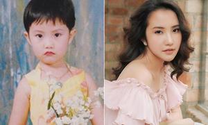 Ảnh thuở bé chứng minh bạn gái Phan Thành 'dậy thì thành công'