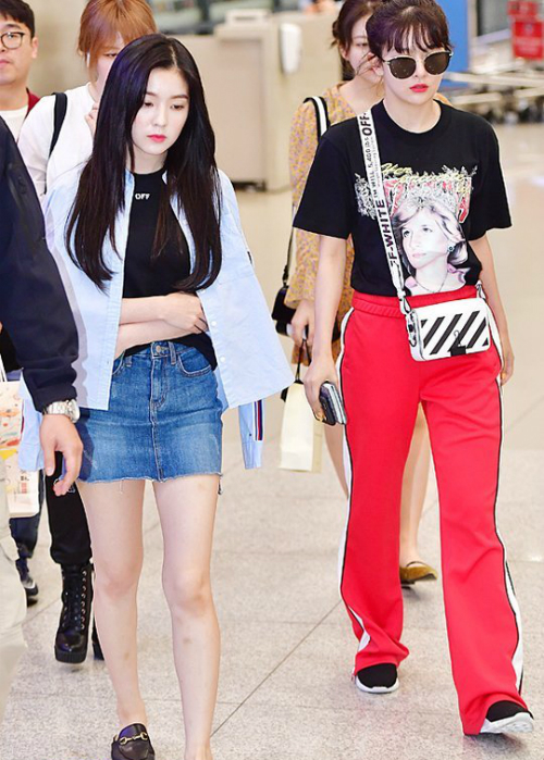 Bức ảnh khiến Irene bị chỉ trích.