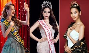 Những danh hiệu hoa hậu khác thường ở showbiz Việt