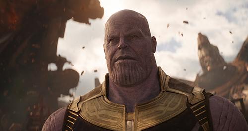 Nhân vật Thanos xuất hiện nhiều lần trong vũ trụ điện ảnh Marvel