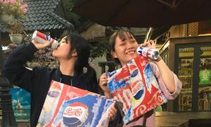 'Săn' quà Pepsi cực chất cùng giới trẻ Hà thành