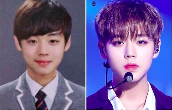 Từ khi còn học cấp 2, tiên tử nháy mắt Park Ji Hoon đã rất đẹp, hứa hẹn trở thành một idol đình đám trong tương lai. Từ kiểu tóc đáng nụ cười mỉm đều ra dáng ngôi sao.