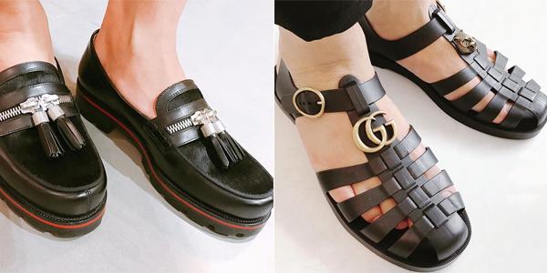Ngoài sneakers, trong bộ sưu tập giày của Duy Khánh còn có những đôi Louboutin hay Gucci độc đáo mà chỉ có những tay chơi thứ thiệt mới dám chi tiền sắm về.