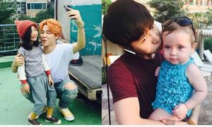 Những idol Hàn lộ khoảnh khắc đáng yêu khi gặp fan nhí