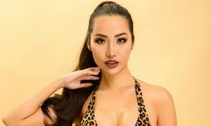 Á hậu Kiko Chan khoe body nóng bỏng với bikini