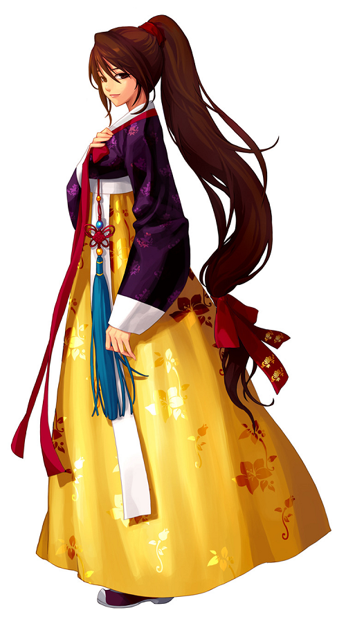 12 sao nữ khi mặc trang phục Hanbok truyền thống của Hàn