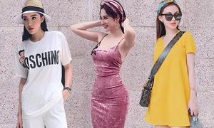 Street style đẹp mắt ngày nghỉ lễ của mỹ nhân Việt