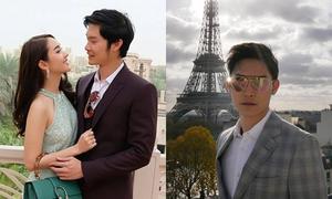 Vẻ ngoài 'chuẩn soái ca' của bạn trai kiều nữ Thái Min Pechaya