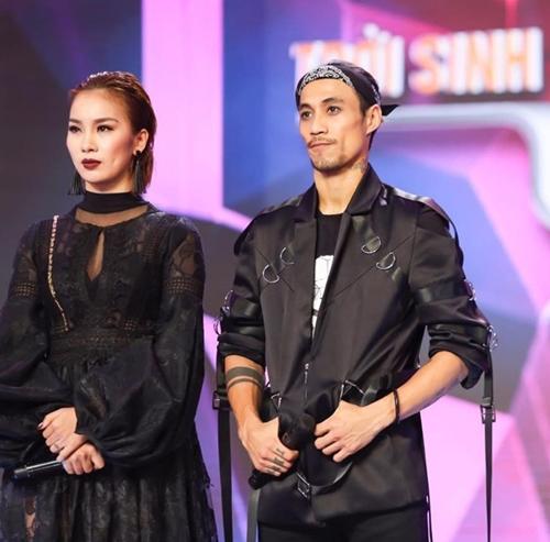 Phạm Lịch - Anh Khoa tại gameshow Trời sinh một cặp.