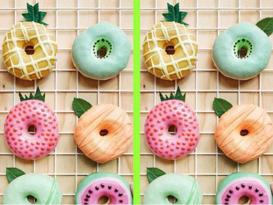 Tinh mắt soi điểm khác biệt với những chiếc bánh trong 30 giây - 2