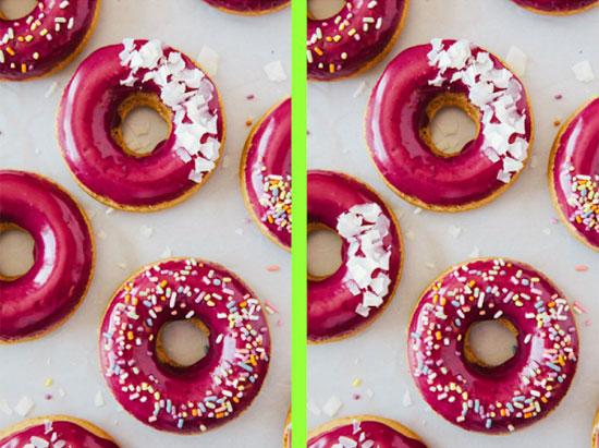 Tinh mắt soi điểm khác biệt với những chiếc bánh trong 30 giây - 4