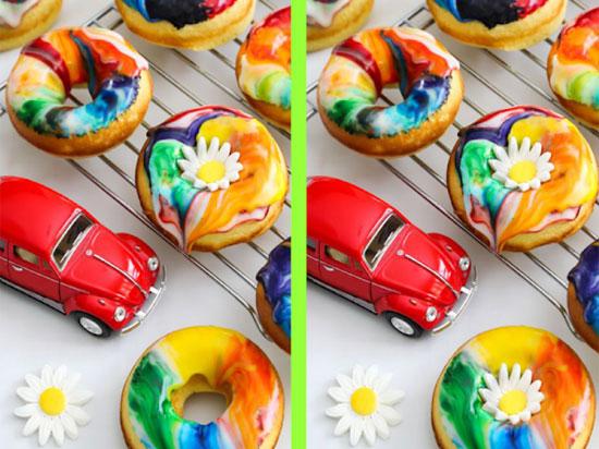 Tinh mắt soi điểm khác biệt với những chiếc bánh trong 30 giây - 6