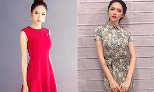 Cách diện đồ che nhược điểm siêu gầy của Hoa hậu Hương Giang