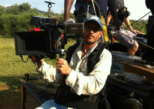 Đạo diễn Carlos Carvalho - bức ảnh được chụp khoảng 5 phút trước khi anh bị tấn công.