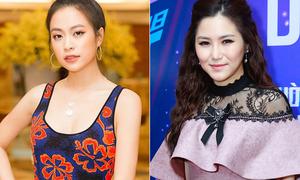 Chọn sai tông makeup, Hương Tràm già dặn bên cạnh Hoàng Thùy Linh