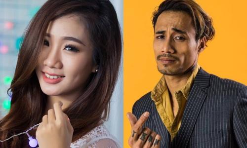Nga My và Phạm Anh Khoa.
