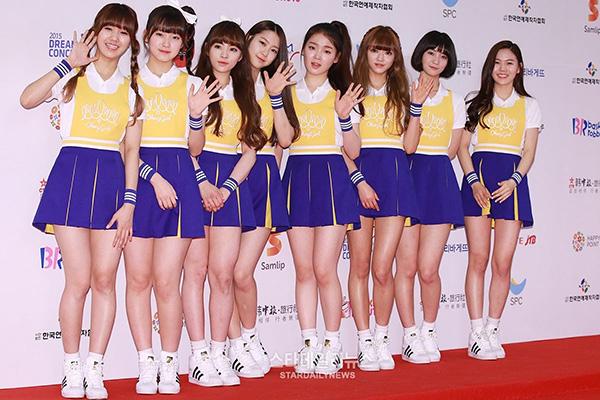 Top 10 girlgroup Hàn là cực phẩm khi mặc đồ nữ sinh cổ vũ - 11