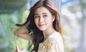 """Nhan sắc của hot girl được mệnh danh """"tiểu Kim Tae Hee"""""""