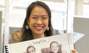 Cựu nữ sinh trường Ams đoạt giải tài năng thiết kế nội thất Mỹ 2018
