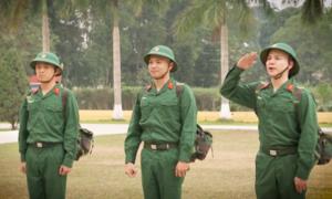 Gin Tuấn Kiệt - Bảo Kun - Hoàng Tôn vật lộn với kỷ luật thép khi 'nhập ngũ'
