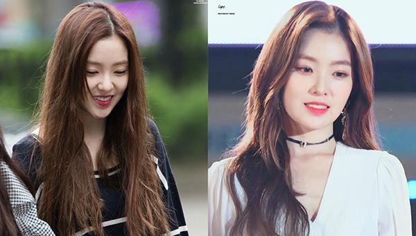 Irene (Red Velvet) muốn thực sự là nữ thần vạn người mê thì cũng không thể sống thiếu chuyên gia làm tóc.