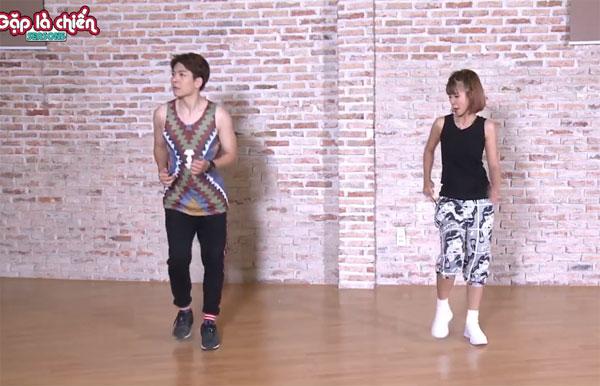 Kelvin Khánh mướt mồ hôi trong phòng tập Aerobic - 9