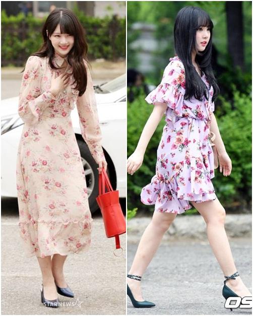 Những mẫu váy hoa đậm chất mùa hè của nhóm G-Friend đốn tim các fan nữ.