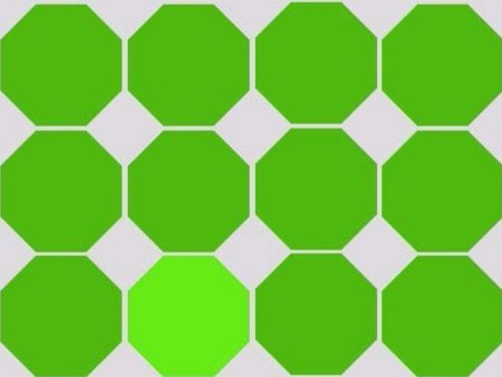 Độ khó tăng dần bạn có phân biệt được những màu này?