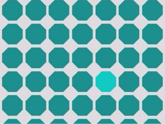 Độ khó tăng dần bạn có phân biệt được những màu này? - 1
