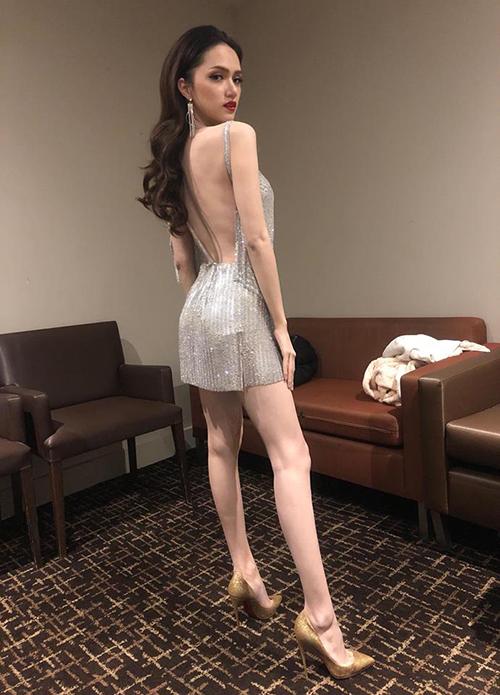 Hương Giang khiến fan lo lắng vì ngày càng gầy guộc từ sau khi đăng quang hoa hậu.
