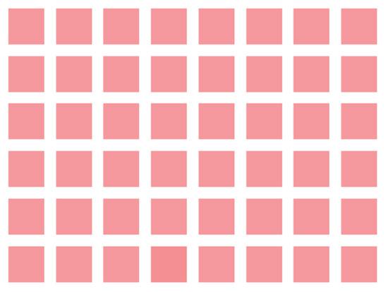 Độ khó tăng dần bạn có phân biệt được những màu này? - 4
