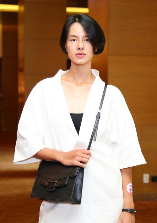 Người mẫu Hà Kino.
