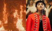 Sơn Tùng gây tranh cãi khi đốt tranh 'Đức Mẹ sầu bi' trong MV mới
