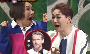 Tài tử 'Deadpool' gây náo loạn khi bí mật thi hát ở Hàn