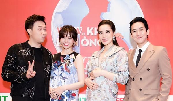 Khi đàn ông mang bầu là chương trình truyền hình thực tế đầu tiên tại Việt Nam cho các nghệ sĩ trải nghiệm cảm giác mang thai để lan toả cộng đồng những câu chuyện truyền cảm hứng trong cuộc sống. Chương trình được mua bản quyền của Keshet International từng được thực hiện thành công tại Singapore và Trung Quốc.