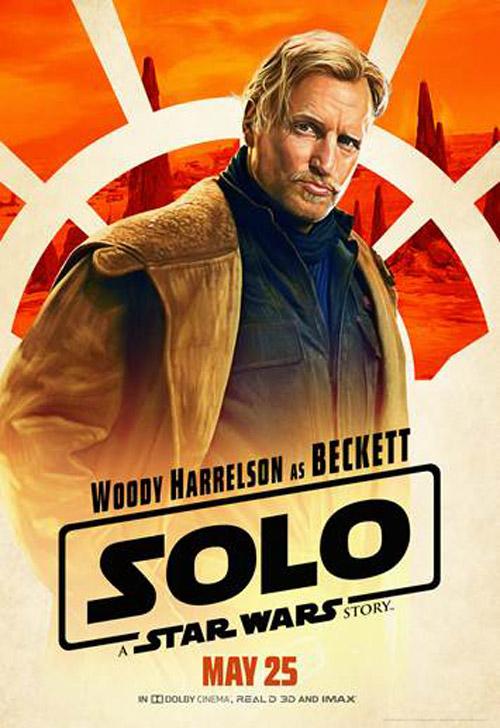 Diễn viên gạo cội Woody Harrelson trong vai Beckett