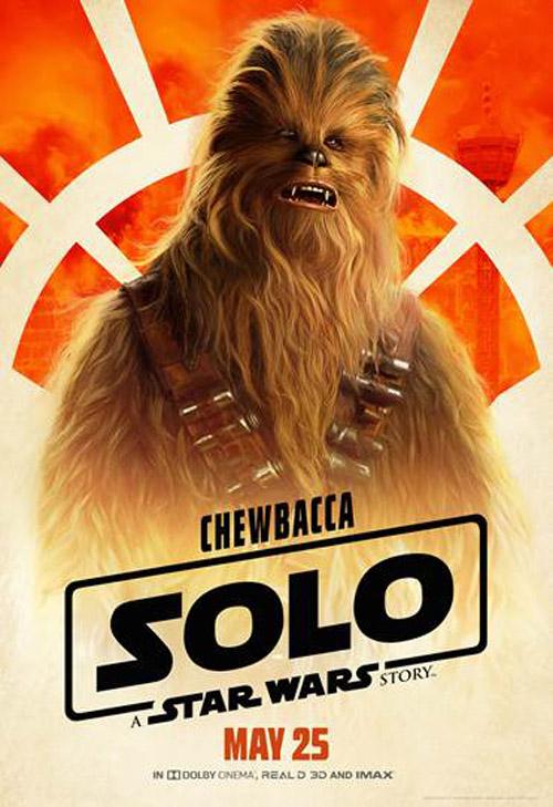 Joonas Suotamo trong vai Chewbacca