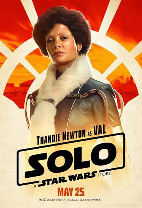 Mỹ nhân Nhiệm vụ bất khả thi Thandie Newton trong vai Val