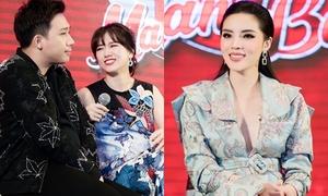 Hari Won - Trấn Thành vác bụng bầu 'tố' Kỳ Duyên thảo mai